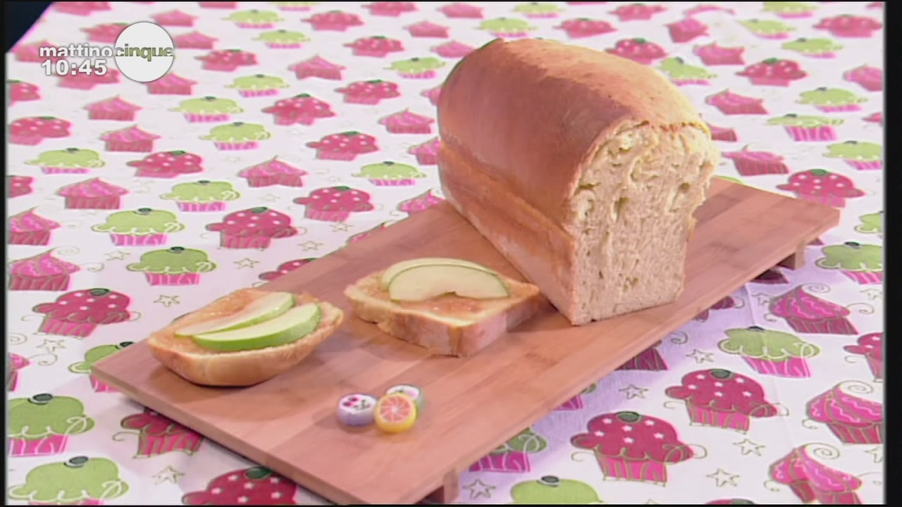 Pan brioche alle mele