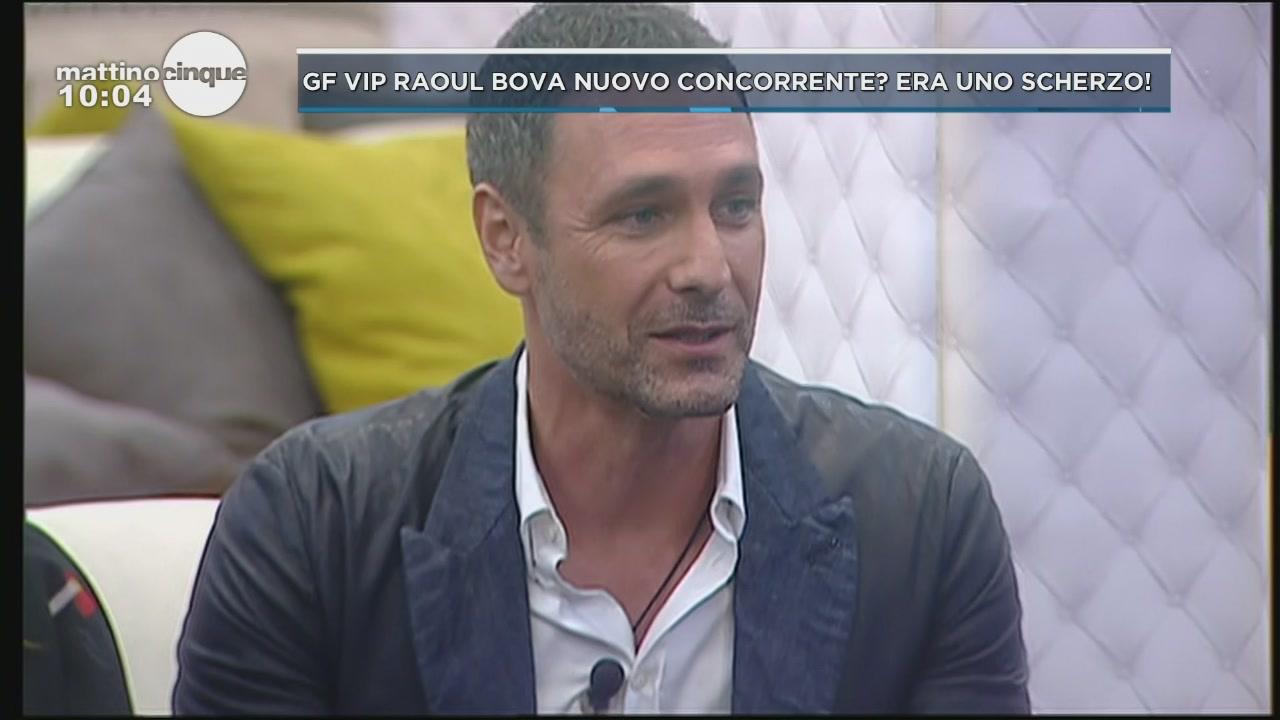 Raoul Bova al Grande Fratello Vip 2
