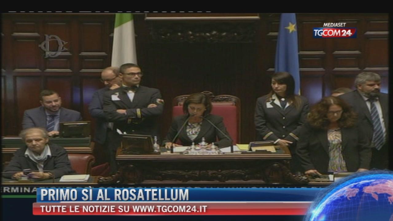 """La Camera dà il via libera alla legge elettorale ribattezzata """"Rosatellum bis"""""""