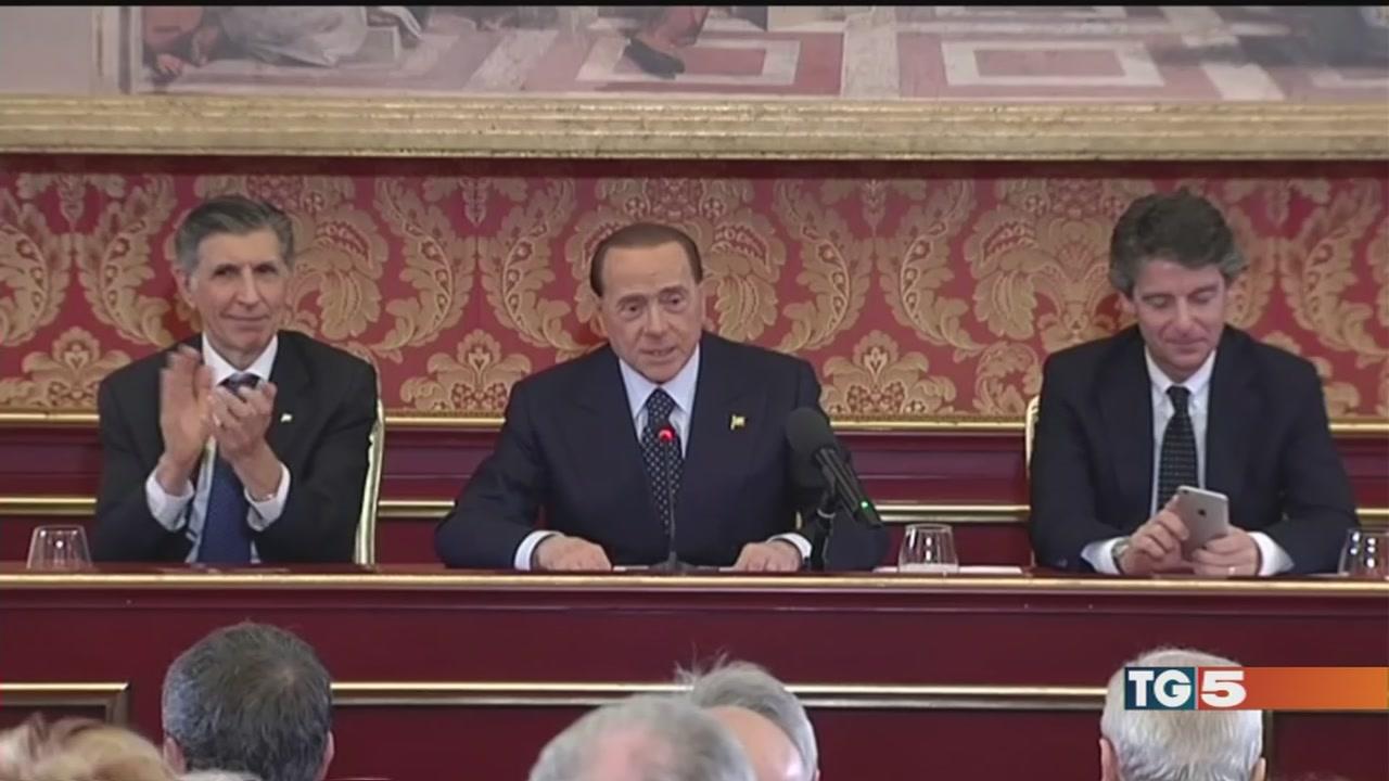 Berlusconi: io sarò comunque in campo