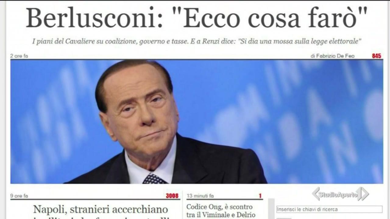 """Berlusconi: """"ecco cosa farò"""""""