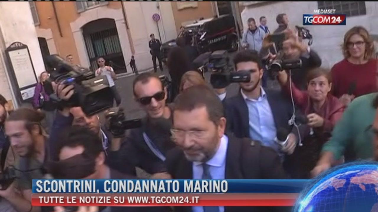 Breaking News delle ore 21.30: Scontrini, condannato Marino