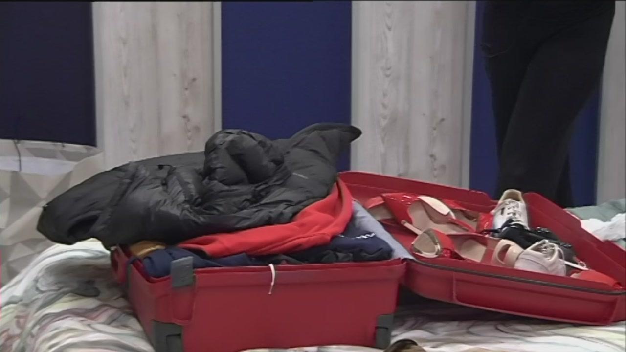Quella valigia sul letto