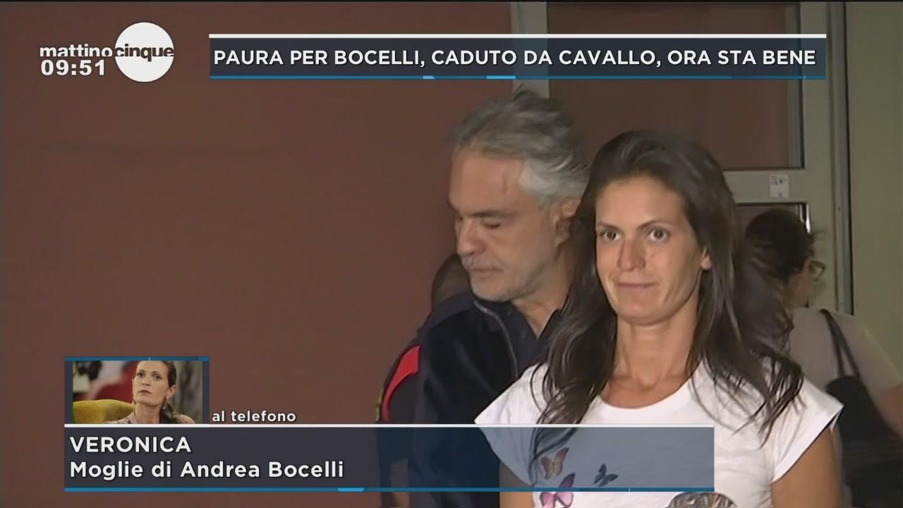 Caduta da cavallo per Bocelli