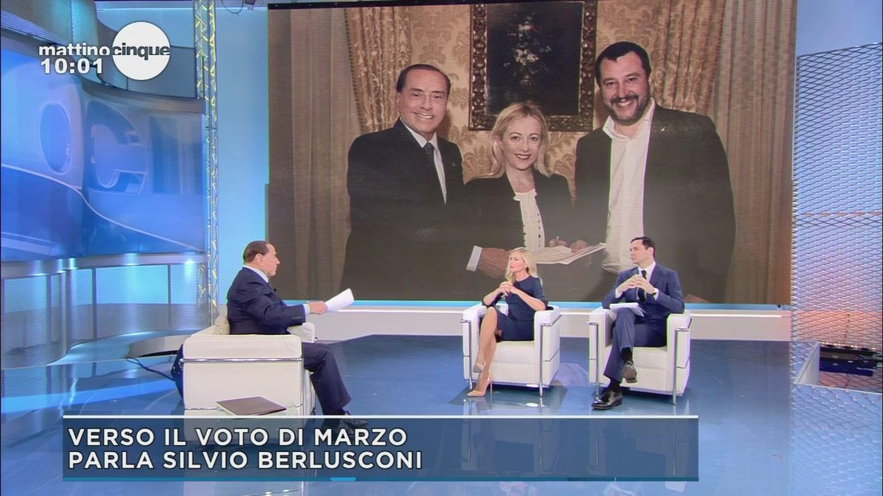 Silvio Berlusconi: l'accordo del cambiamento