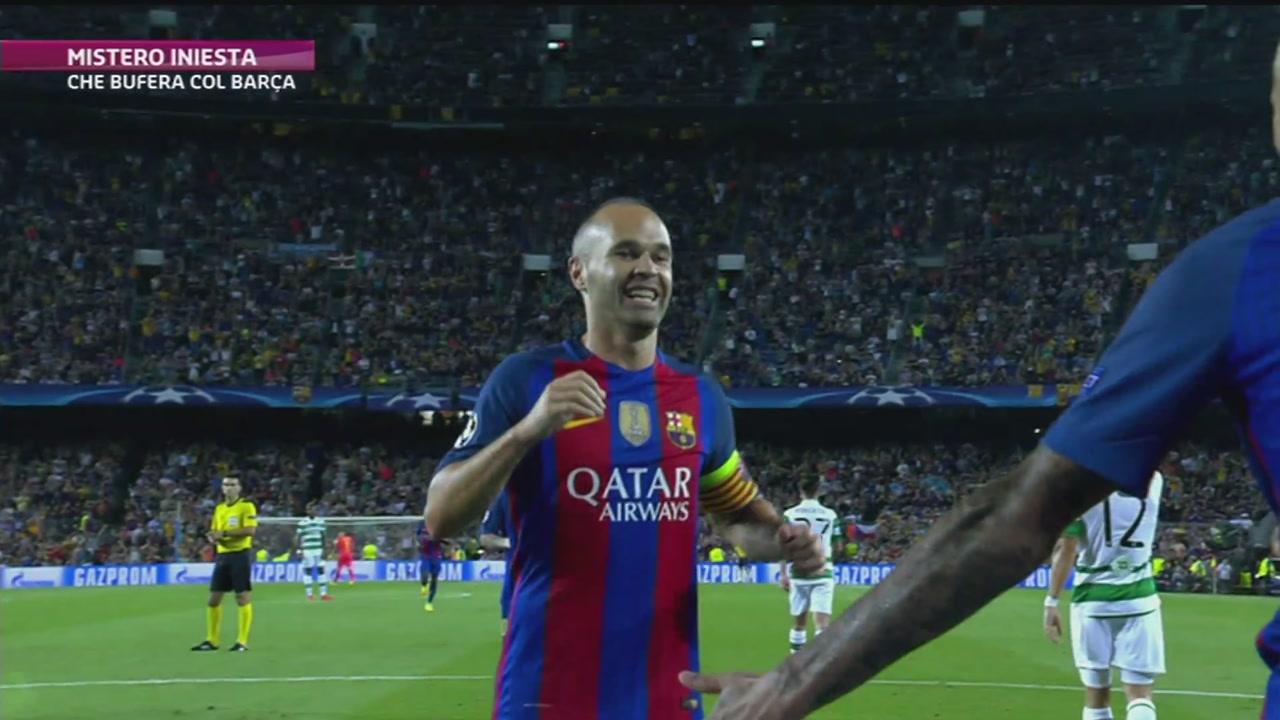 Barcellona: mistero Iniesta