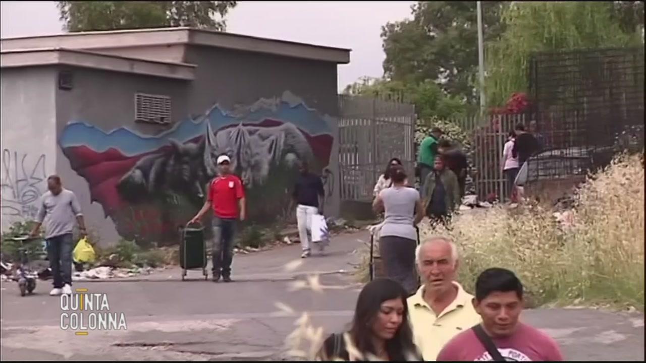 Roma e l'emergenza campi rom