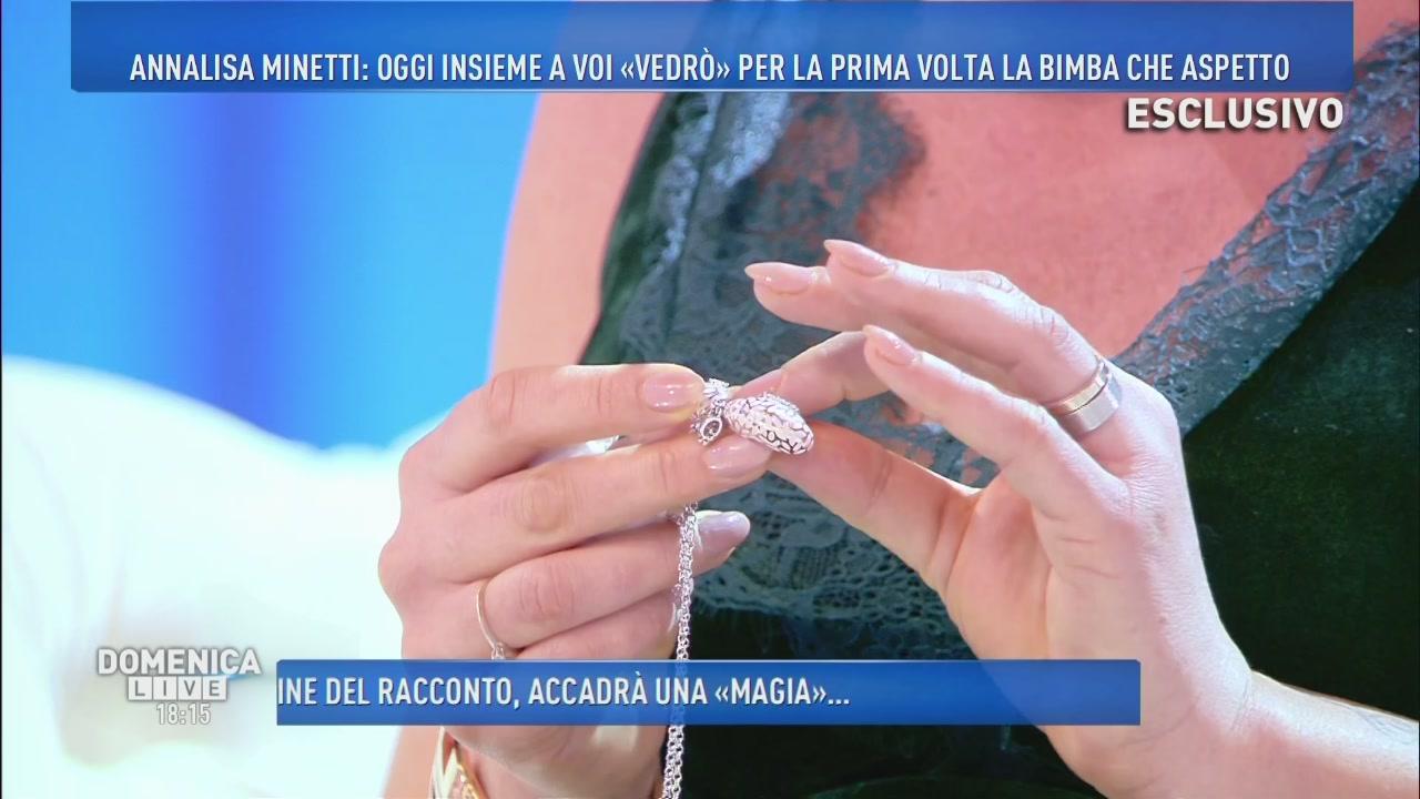Una sorpresa per Annalisa Minetti