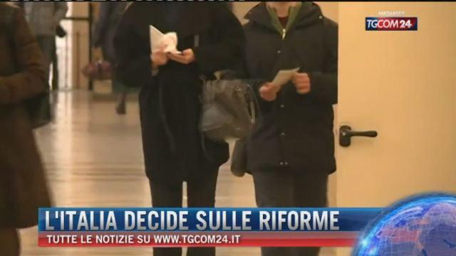 Referendum, l'Italia decide sulle riforme