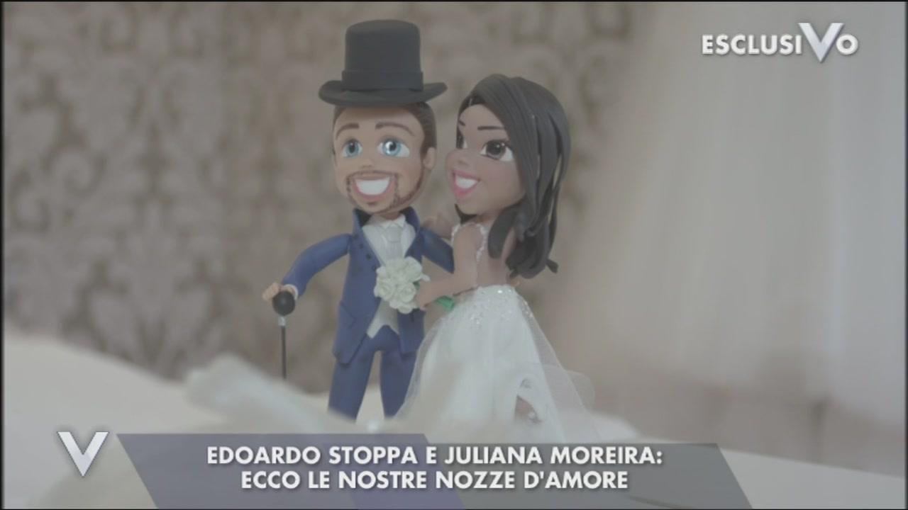 Il matrimonio di Juliana Moreira ed Edoardo Stoppa