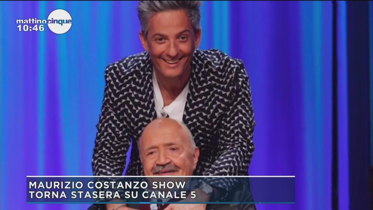 Maurizio Costanzo Show, torna stasera su C5