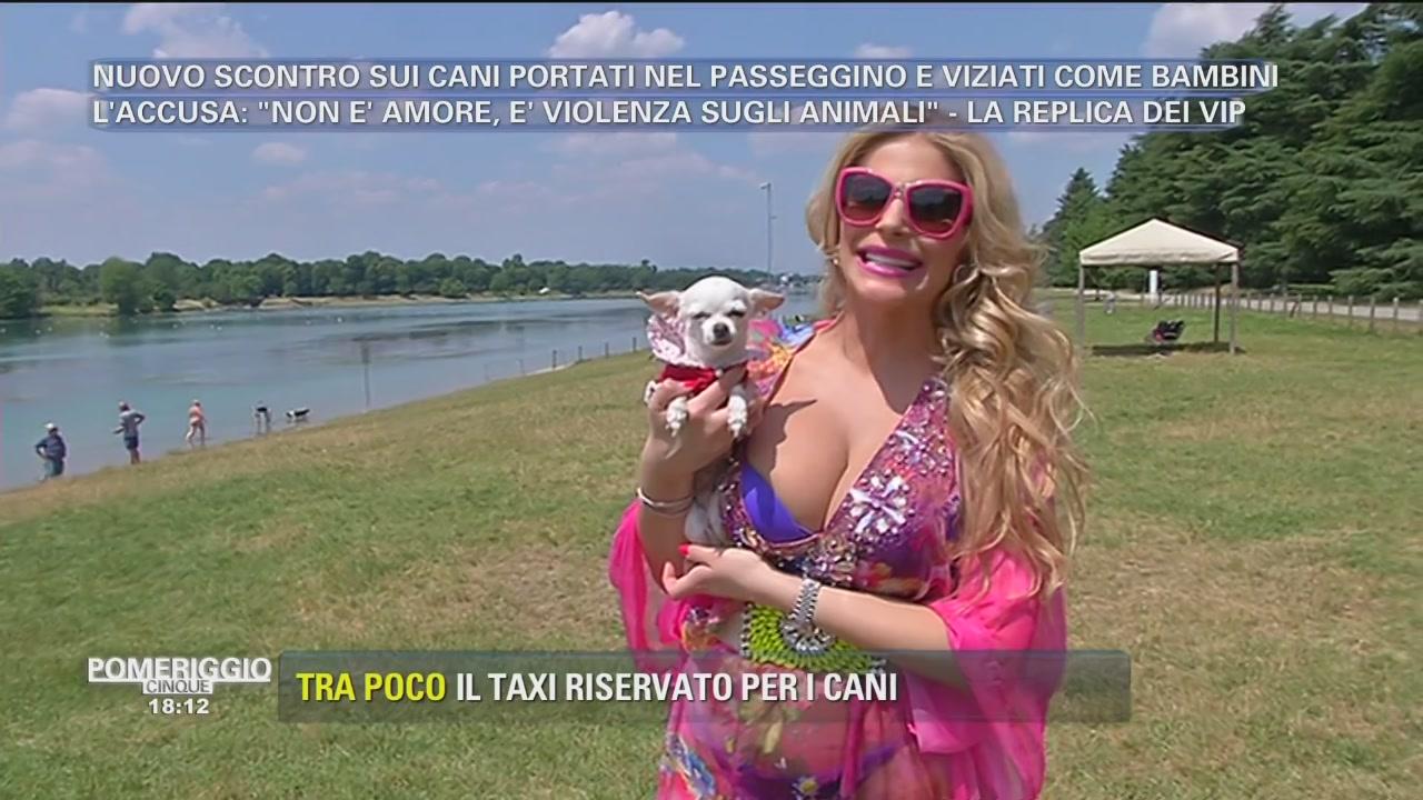 """Francesca Cipriani e Barbie al """"mare"""""""