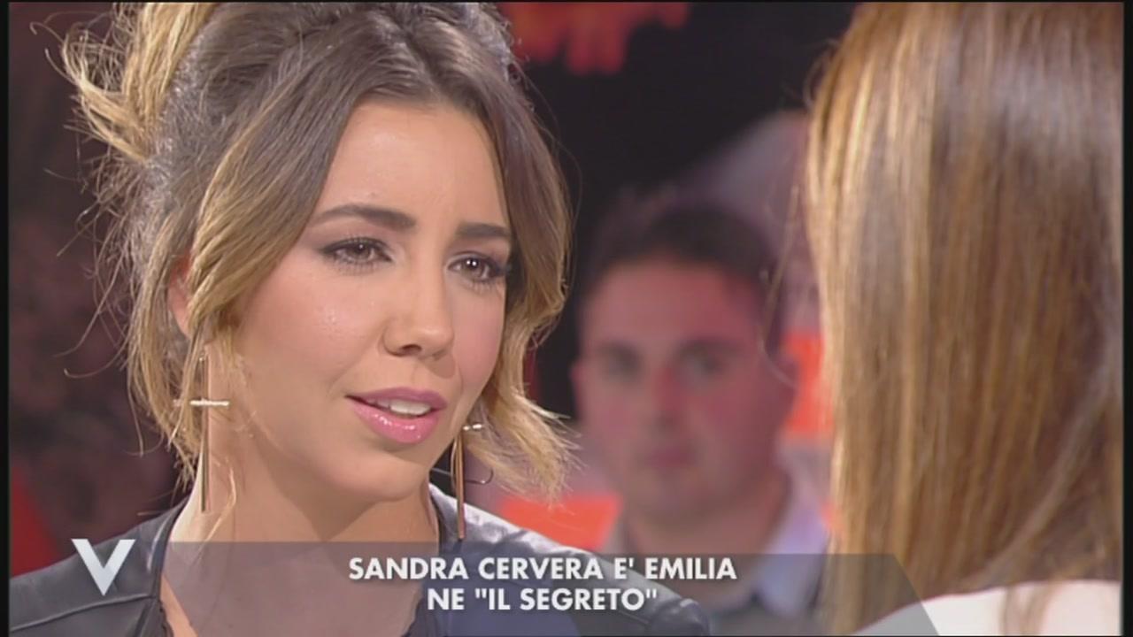 """Sandra Cervero, è Emilia ne """"Il segreto"""""""