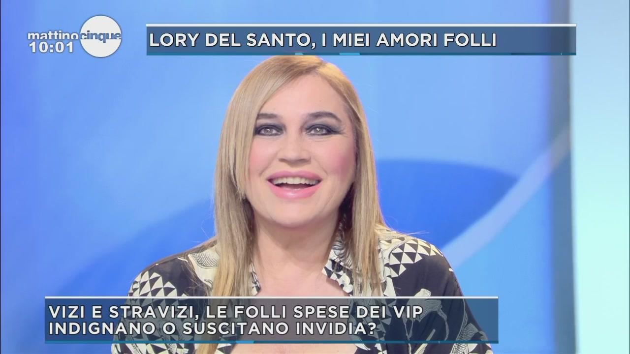 Lory Del Santo e le follie dei ricchi