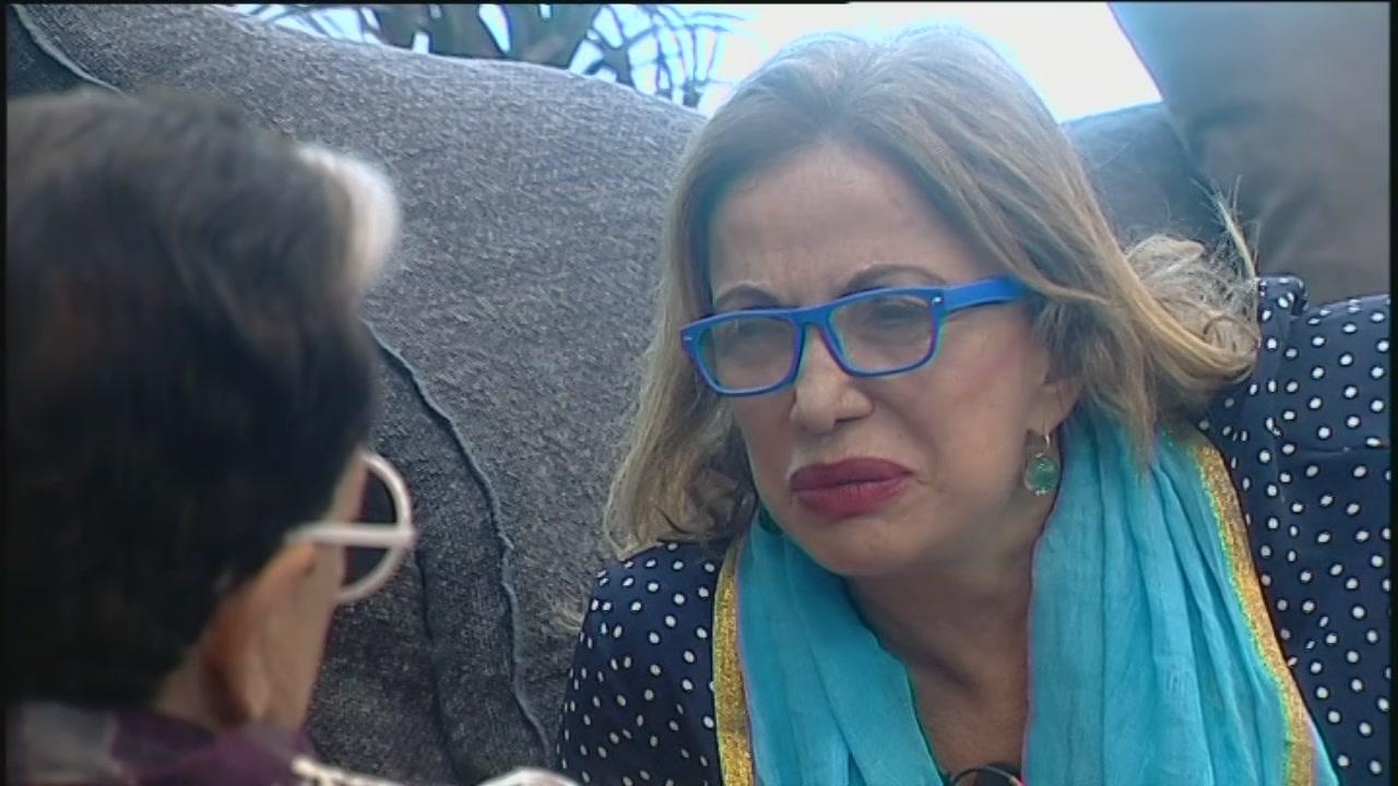 Simona commenta la lite con Carmen