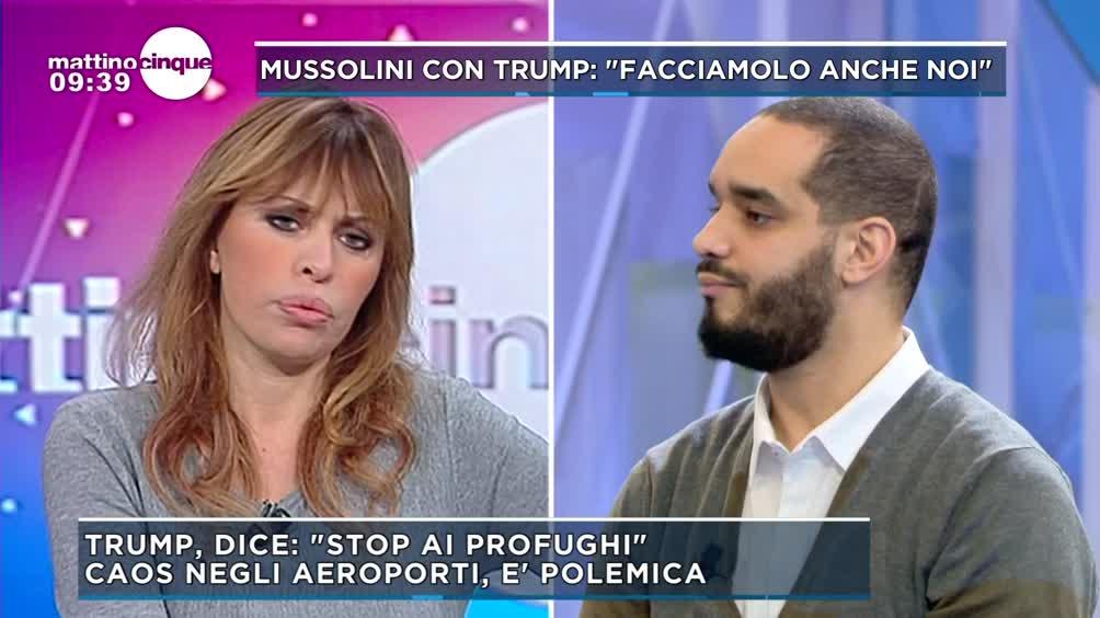 Mussolini: Stop ai profughi