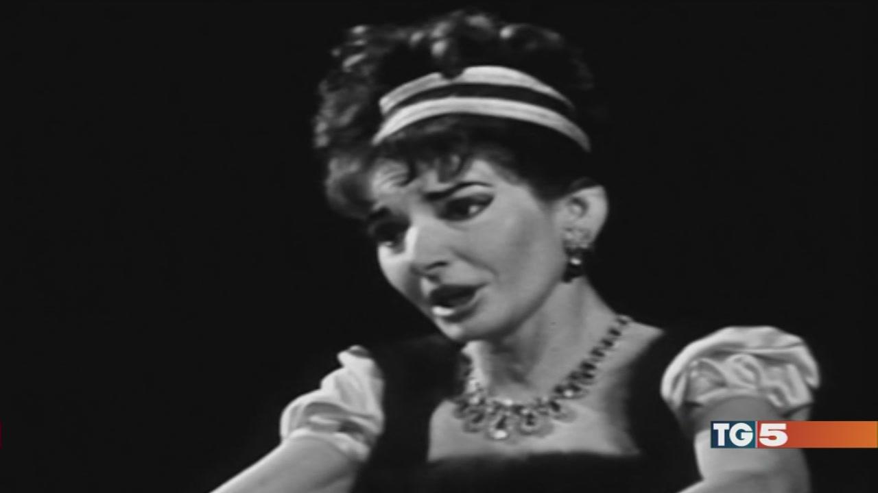 """La 'divina' Callas """"icona come Diana"""""""