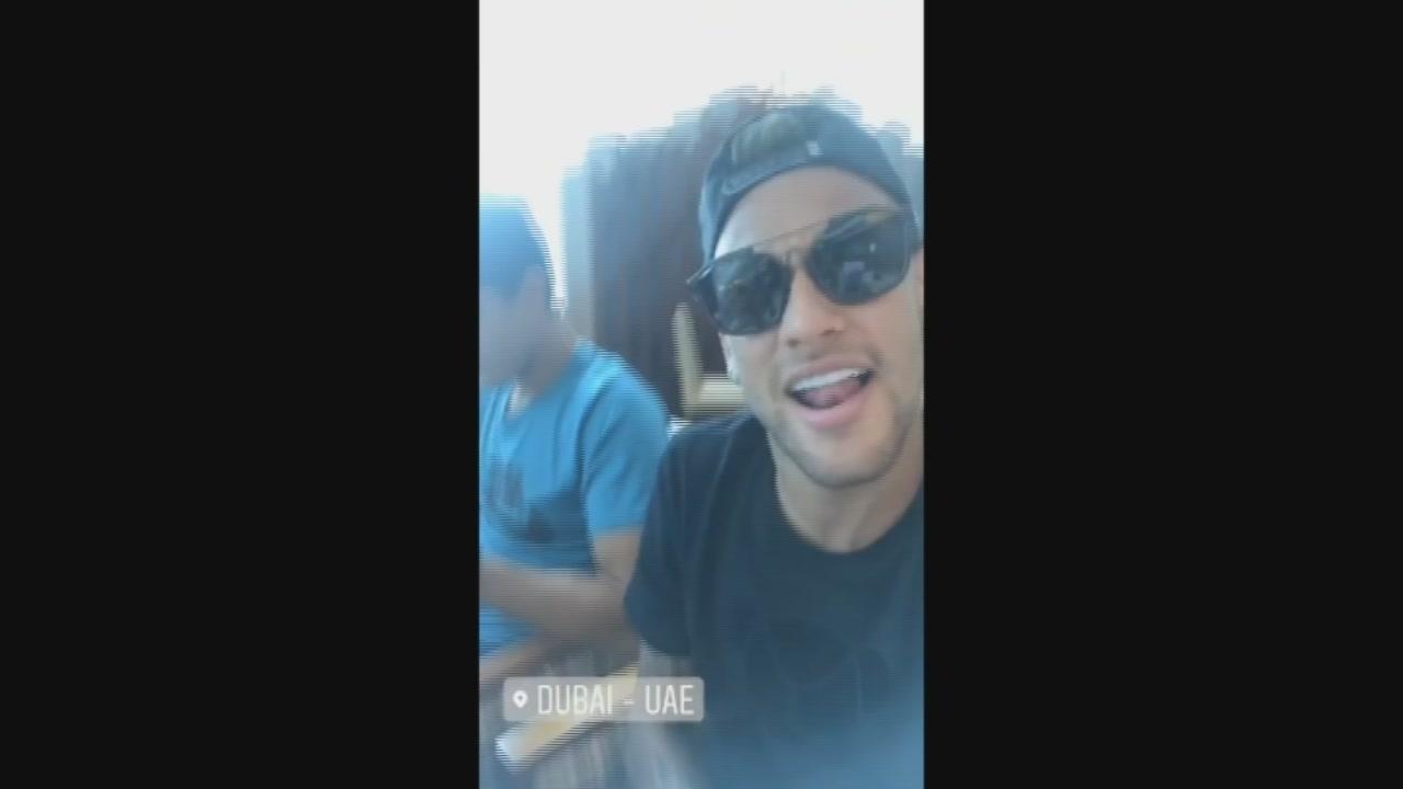 Neymar a Dubai
