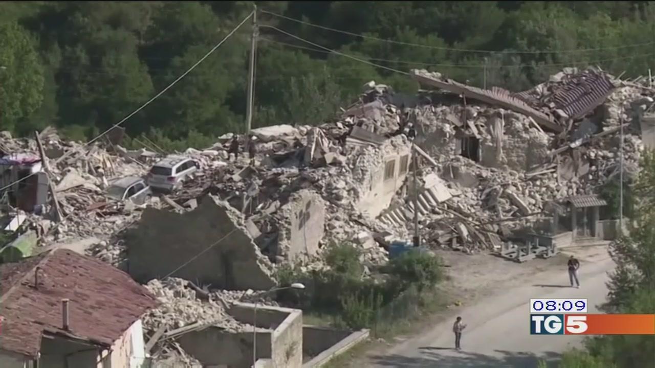 Terremoto e promesse non mantenute