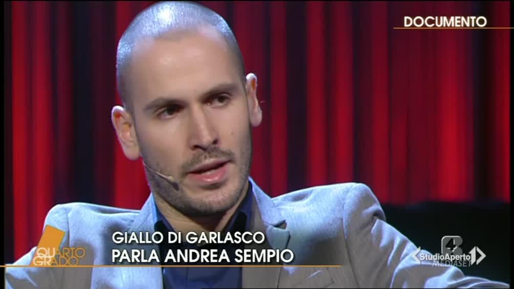 Andrea Sempio ospite a Quarto Grado