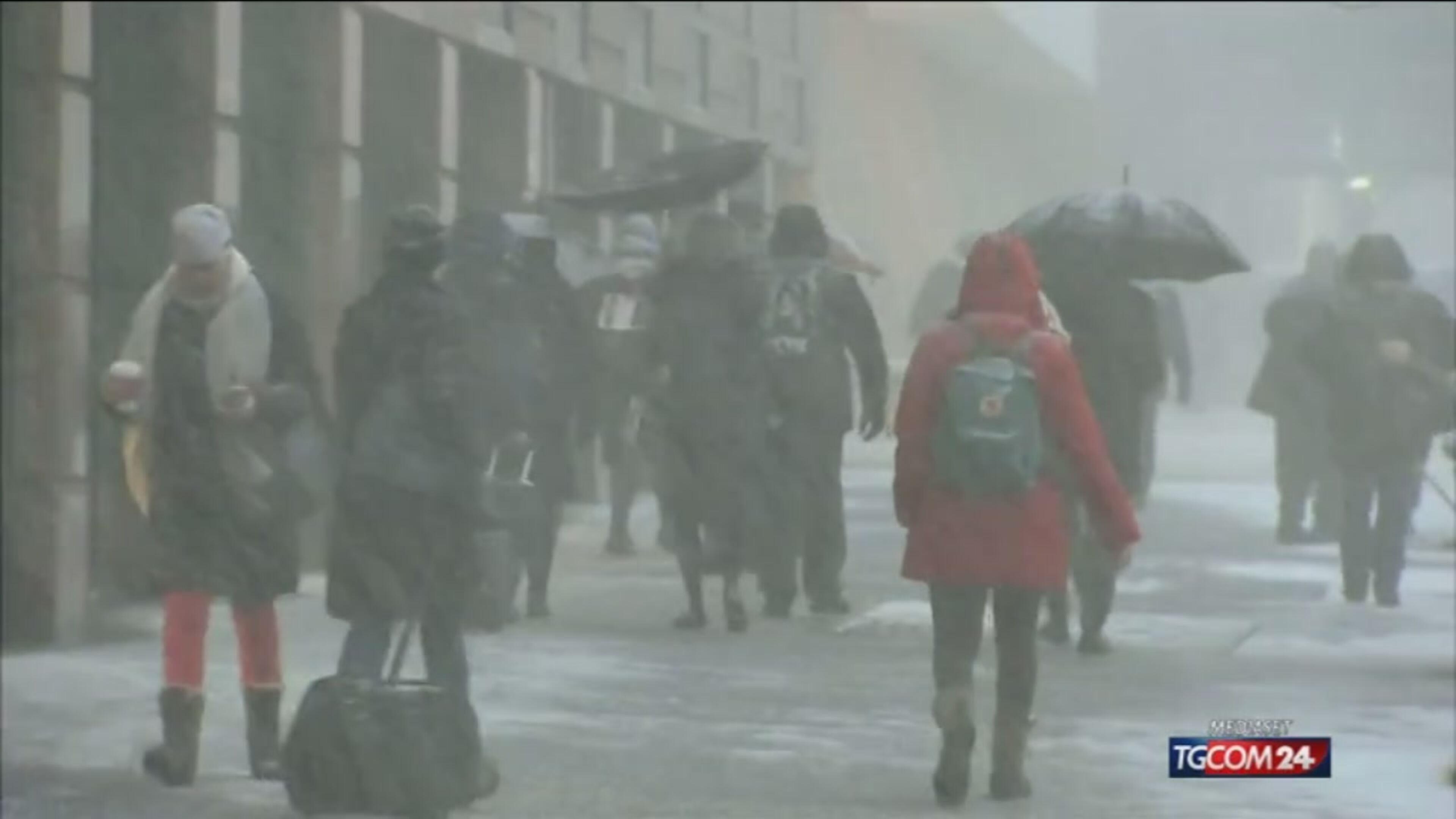 New York sotto la neve - live