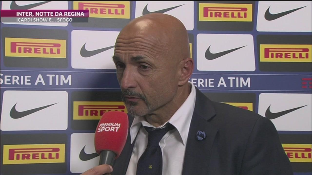 L'Inter vola con Spalletti