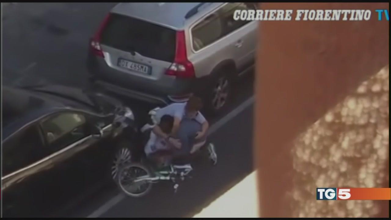 Tragedia sfiorata a Firenze