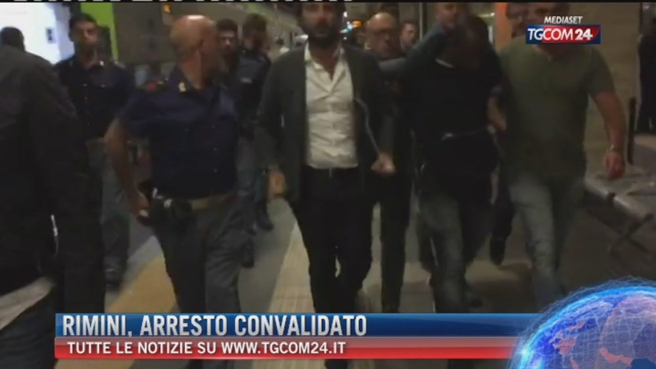 Stupri di Rimini, convalidato dal gip l?arresto del 20enne congolese