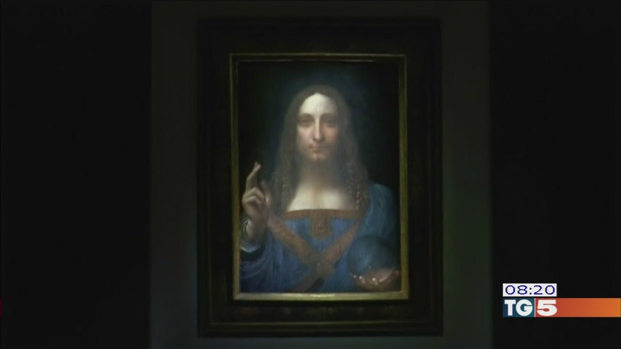 All'asta un dipinto di Leonardo Da Vinci