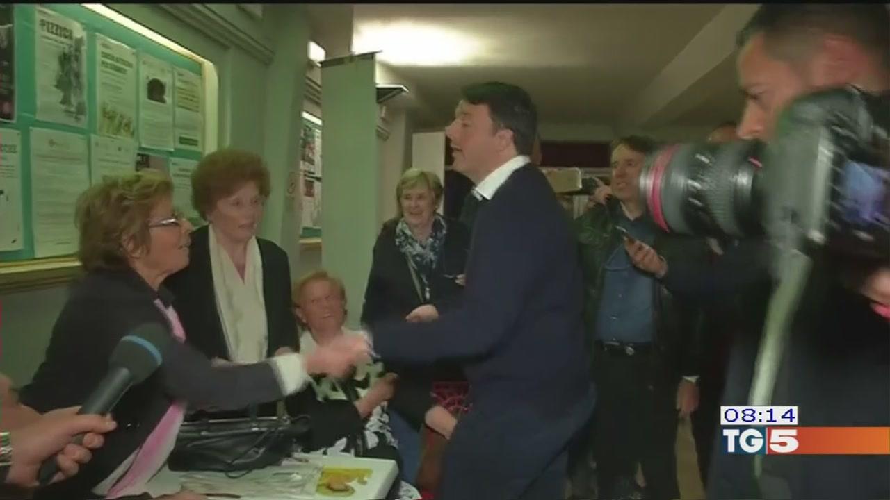 Renzi vince nei circoli