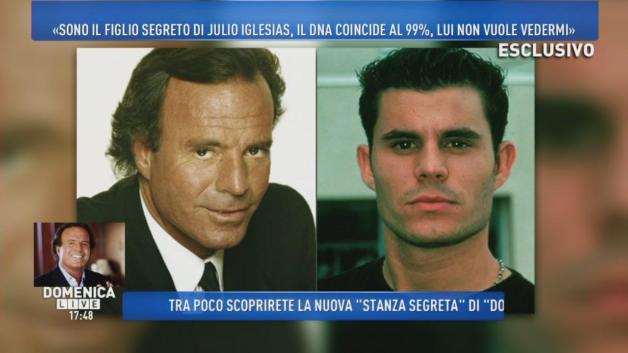 Javier Sanchez, il figlio di Julio Iglesias