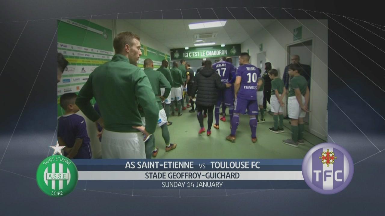 AS Saint Etienne-Toulouse FC 2-0