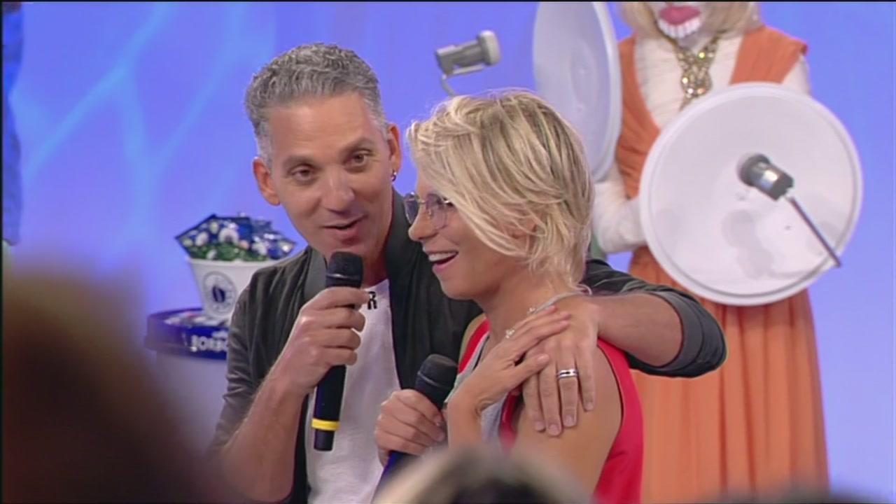 Beppe Fiorello a Uomini e Donne