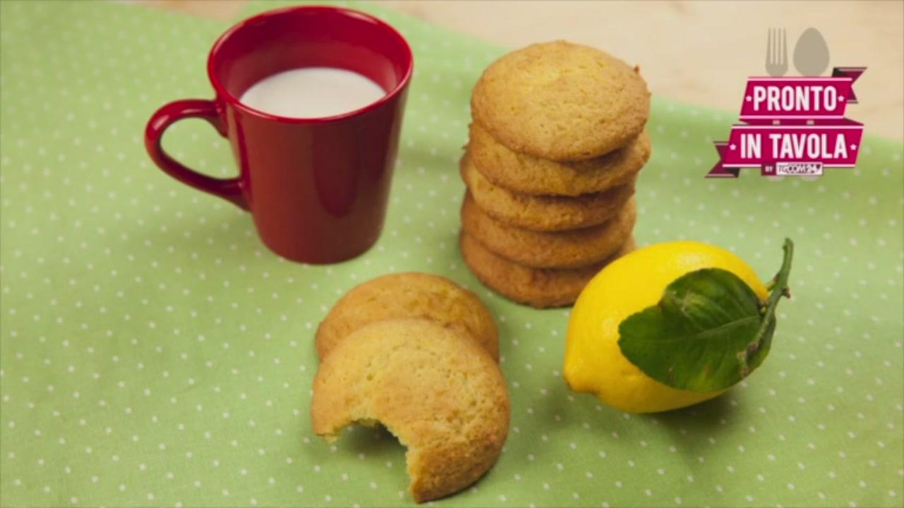 I Dolci di Alice: biscotti morbidi al limone