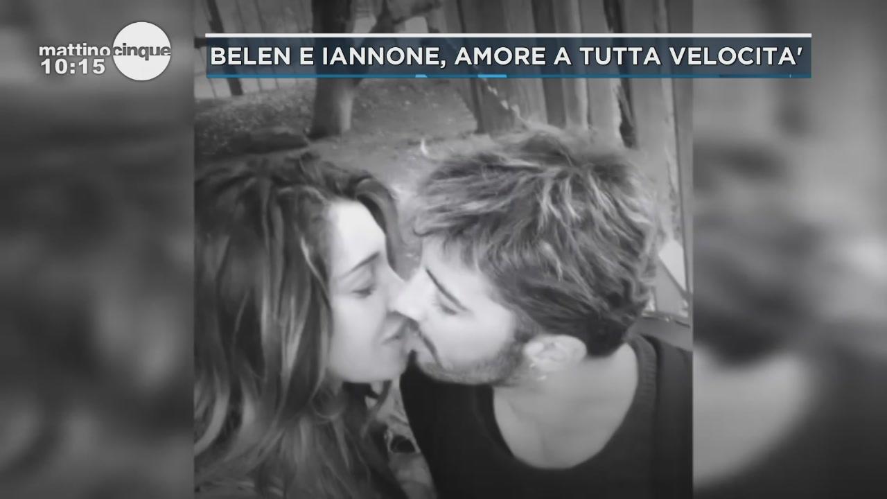 Belen e Iannone lasciano l'Italia