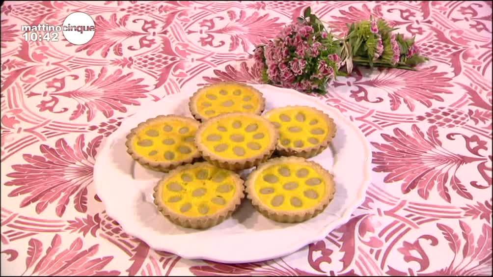 Tartellette girasole