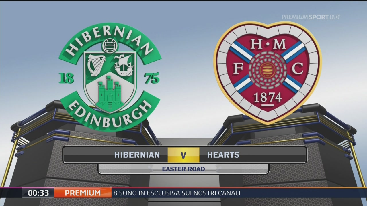 Hibernian-Hearts 1-0