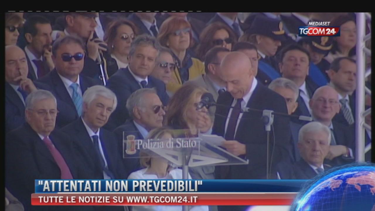 """Minniti: controlli ma niente Pasqua blindata; """"La minaccia del terrorismo non è prevedibile"""""""