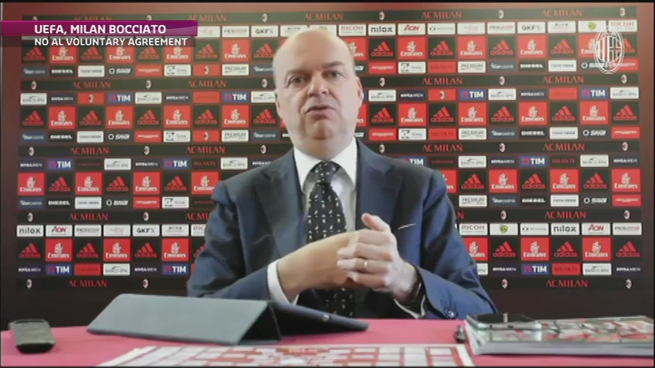 L'Uefa boccia il Milan