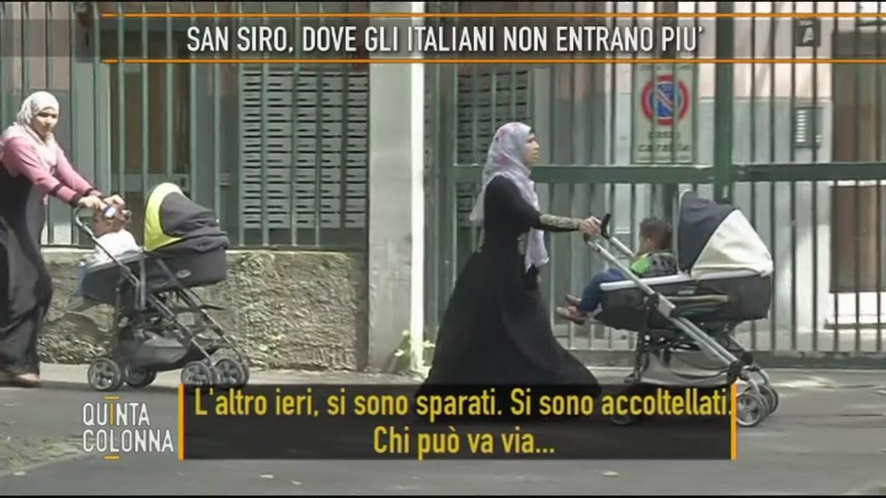 San Siro, dove gli italiani non entrano più