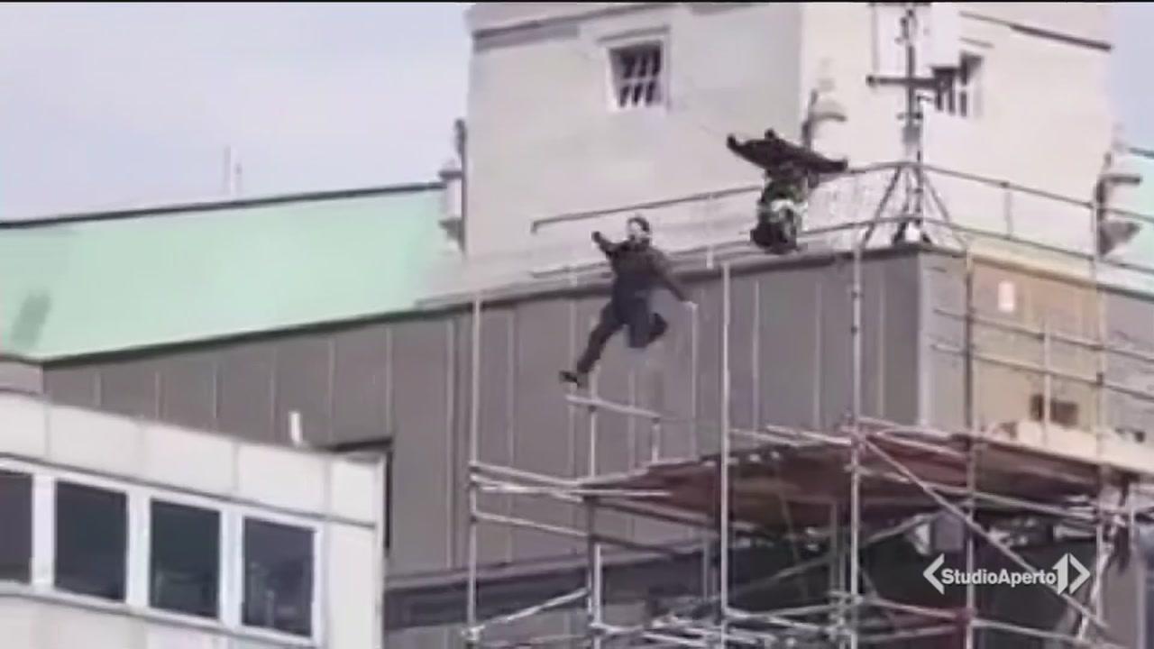 Brutta caduta per Tom Cruise