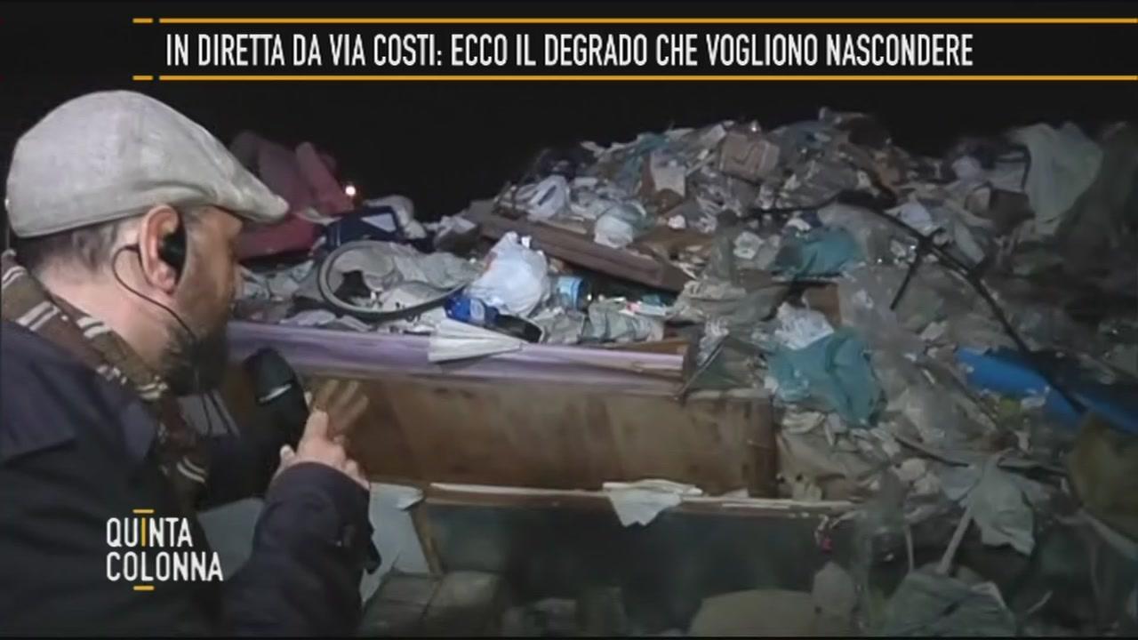 Roma: in diretta da Via Costi