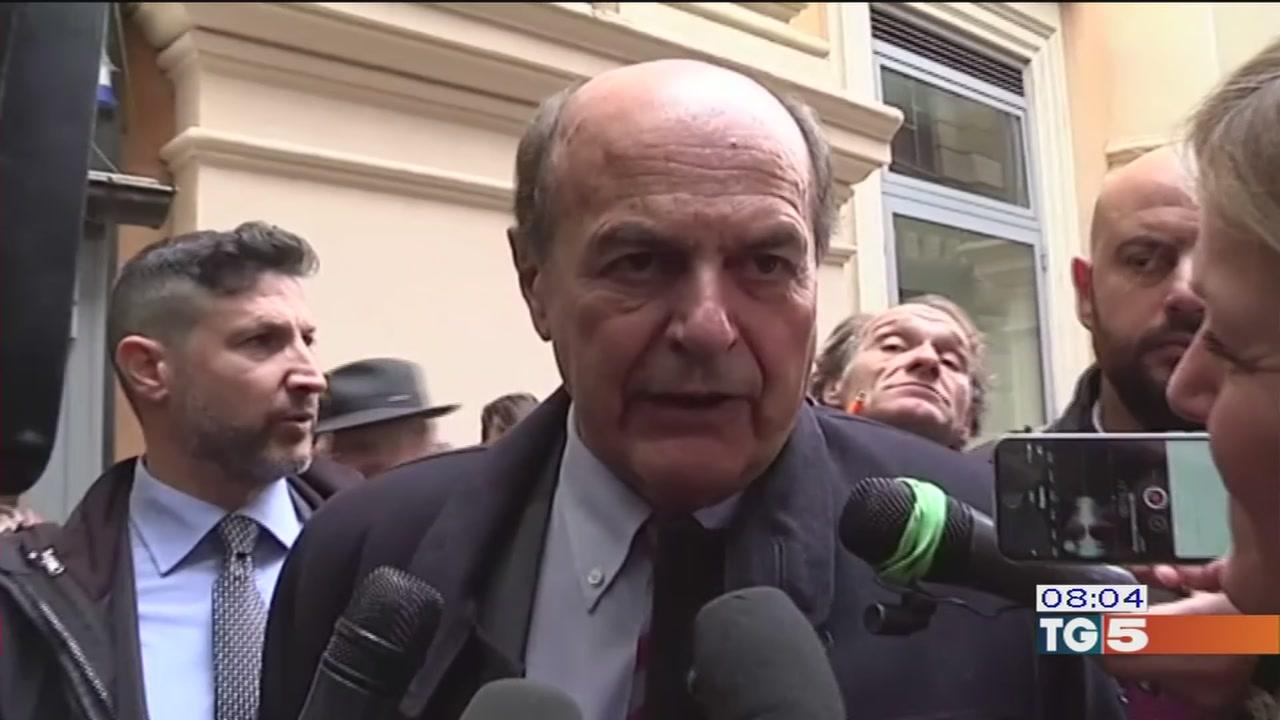 Bersani conferma il no all'alleanza con il Pd