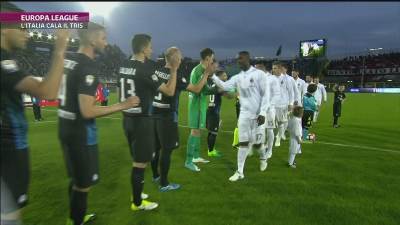 Europa League, forza Italia
