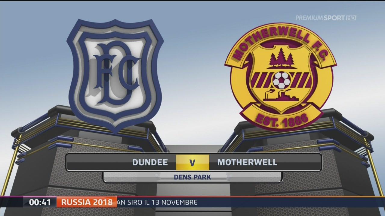 Dundee-Motherwell 0-1