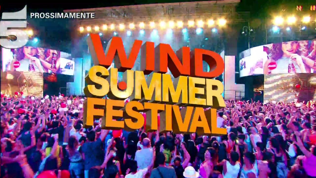 Wind Summer Festival, prossimamente su Canale 5