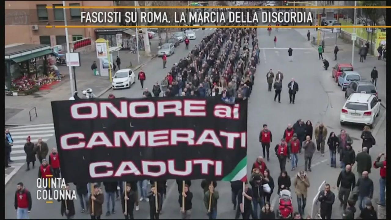 Marciando per Roma