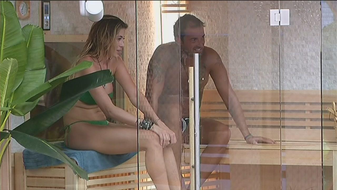 Chiacchiere in sauna