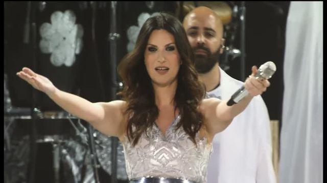 Laura Pausini concerto Stadi 2016 Canale 5