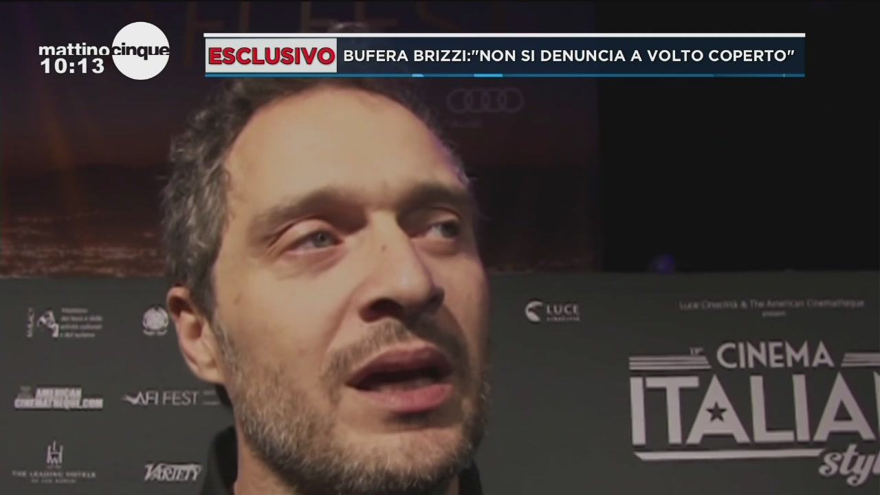 Scandalo Fausto Brizzi: parla Claudio Santamaria
